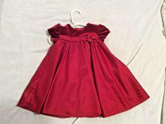 jona michelle toddler glitter dress w// velvet shaw Size 12M NWT