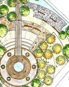 """344 Likes, 3 Comments - Nahal Sbt (@nahalsbt) on Instagram: """"#sketchbook #architectureape #project #landarch #art #sketch #ARQSKETCH #artschool #artist…"""""""