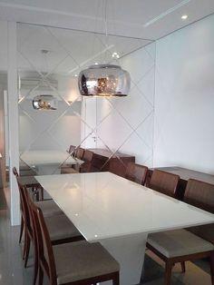 Decoração: 10 salas de jantar com espelhos! - Jeito de Casa