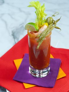 Bloody Mary recipe from Geoffrey Zakarian via Food Network
