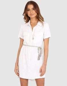 Bindi Shirt Dress
