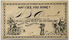 Before Tinder and Texting, There Were Acquaintance Cards | Go Retro!