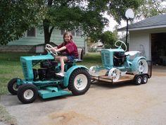 Our Garden Tractors - Rare Garden Tractors - Panzer