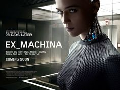 Ex Machina is a 2015 British science fiction thriller film written and directed by author and screenwriter Alex Garland, making his directorial debut, and starring Domhnall Gleeson, Alicia Vikander and Oscar Isaac.