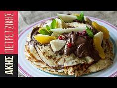 Κρέπες από τον Άκη Πετρετζίκη! Βασική συνταγή για εύκολες και γρήγορες, γλυκές ή αλμυρές, σπιτικές κρέπες! Ιδανικές για κυριακάτικο brunch!