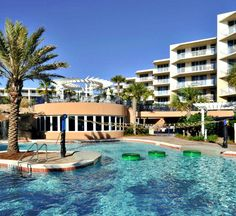 Waterscape Fort Walton Beachfront Resort | Paradise with Lazy River Florida Vacation, Florida Beaches, Sandy Beaches, Fort Walton Beach Florida, Beach Resorts, Condo, Mansions, Lazy, River