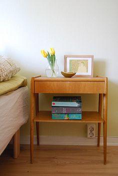 New old bedside table by KatjaR., via Flickr