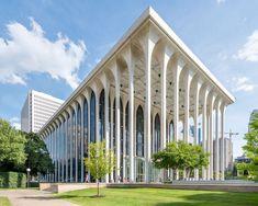 VOYA FINANCIAL | MINORU YAMASAKI | 1964 | MINNEAPOLIS, MN Green Architecture, Islamic Architecture, Concept Architecture, Landscape Architecture, Architecture Design, Architecture Definition, Monumental Architecture, Drawing Architecture, Architecture Portfolio
