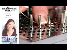Video:  How To Use a Wire Jig  #Wire #Jewelry #Tutorials