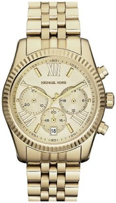 6bcf02b581eae Shop Mid-Size Rose Golden Stainless Steel Lexington Chronograph Watch from MICHAEL  Michael Kors at Neiman Marcus Last Call, where you ll save as much as on ...