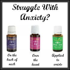 Valor, Joy, Stress Away, essential oils to ease anxiety. This is what I do when I get overwhelmed.
