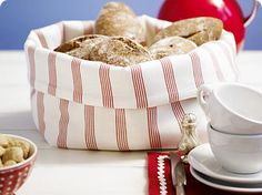 bread basket diy - want to make a few of those