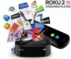 Roku 2 XS 1080p HD Streaming Media Player with Wi-Fi and Angry Birds $59.99 on 11/7 only Get Rid Of Your Monthly Cable Bill!
