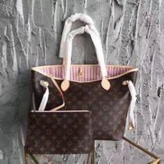 Louis Vuitton Monogram Neverfull MM Rose Ballerine (Special Edition) fee5f510f934f
