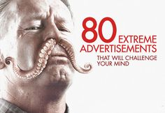 Really impressive ads! 80 Extreme Advertisements That Will Challenge Your Mind Web Design, Graphic Design, Advertising Photography, Interesting Stuff, Thought Provoking, Nifty, Bobs, Weird, Challenges