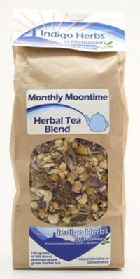 Monthly Moontime Menstrual Loose Leaf Herbal Tea Blend - 100 grams