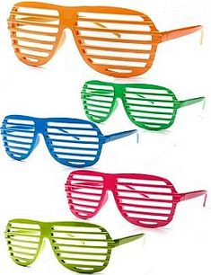 Neon Shutter Sunglasses. Back in stock in all colors! $10