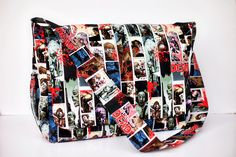 Hey, I found this really awesome Etsy listing at https://www.etsy.com/listing/289809255/punk-rock-walking-dead-diaper-bag-ready