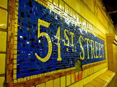 Street Subway mosaic (sign) NYC by rosanne maccormick-keen New York Subway, Nyc Subway, Subway Art, Subway Tiles, United Nations Headquarters, A New York Minute, Empire State Of Mind, S Bahn, I Love Nyc