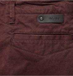 NN.07Simon Straight-Leg Cotton-Twill Trousers|MR PORTER