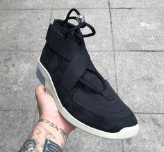 new styles f40c5 61953 Nike Air Fear Of God 180 in Black