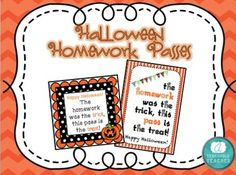 homework pass. Teachers can print out a page of homework passes ...