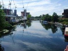 Regent's Canal, nr King's Cross - major redevelopment