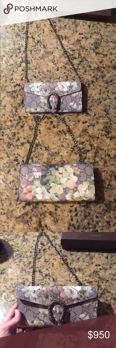 Gucci Dionysus WOC Brand new Gucci Dionysus Wallet-On-Chain! Has authenticity card, box, dustbag and removable chain! 100% authentic. This is soo in right now. As seen on Giuliana Rancic and other celebs! Gucci Bags