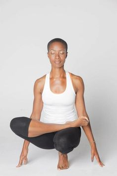 Toe Stand Pose   Padangustasana  anacostiayogi:        Vanya Francis embodies Peace and Stability at Om Point Yoga in Atlanta, GA  visit http://www.ompointyoga.com  Anacostia Yogi- Your Resource in the Best Black Yoga Teachers!