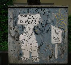 Street Art - The End is Near by1zwo3