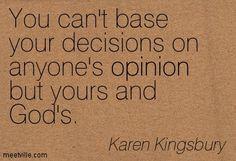 Quotes of Karen Kingsbury About god, time, inspirational, prayer ...