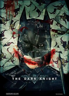 Defaced Film Posters - Dark Knight Promo Posters (GALLERY)