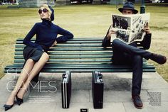 The Terrier and Lobster: Spy Games: Marleen Gaasbeek by Corrie Bond for Marie Claire Australia May 2013
