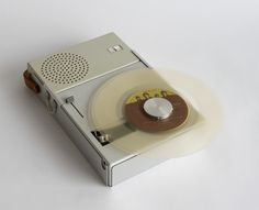 Portable Record Player and Radio by Braun