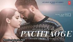 Pachtaoge Song Lyrics in Hindi – Arijit Singh