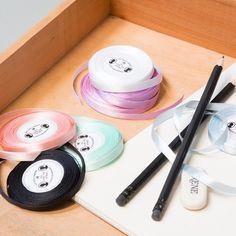 Delicate satin ribbons for elegant decorations. Several colours, price DKK 5,98 / SEK 7,74 / NOK 8,48 / EUR 0,87 / ISK 185 #satin #ribbon #giftwrapping #diy #crafts #decorations #inspiration #sostrenegrene #søstrenegrene #grenediy