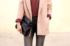 sac cuir zara manteau vero moda lit de vin / streetstyle fashion blogger / Blog mode /fashion blog