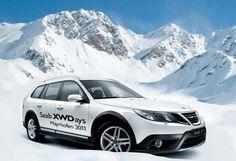 The 2011 Saab 9-3x XWD SportCombi At Saab Academy