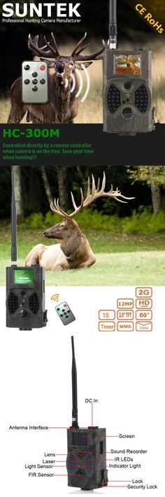 [Visit to Buy] HC 300 M Home Surveillance wildlife digital infrared hunting trail camera with 36pcs LEDS photo trap cam for animal trap hunt #Advertisement