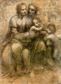 History Of Art Daily — Leonardo da Vinci (1452 - 1519), The Virgin and...