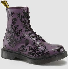 2207c35cb65252 Martens Cassidy Boot - Purple Black Softy T