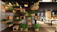 Arquitetura de Interiores - Café do Hostel +Bagagem