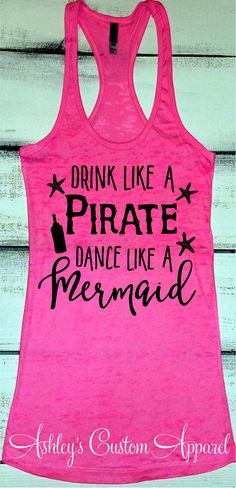 Cruise Shirts Beach Vacation Tank Funny Drinking Shirt Swimsuit Cover Up Day Drinking Shirt Drink Like a Pirate Beach Mermaid Shirt - Funny Exercise Shirt - Ideas of Funny Exercise Shirt - - Funny Running Shirts, Funny Workout Shirts, Workout Humor, Funny Shirts, Quote Shirts, Workout Fitness, Workout Tops, Health Fitness, Beach Tanks