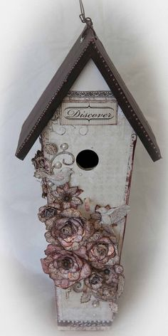 Heartfelt Creations Birdhouse by Jenny Garlick