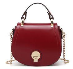 New Design for 2018 Spring Leather Red Handbags for Women Strap Adjust Detach #Unbranded #EveningBagClutchCrossbody #leatherhandbags #designerhandbags
