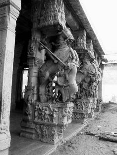 Sri Ranganathaswamy Temple The Hall of 1000 pillars