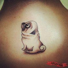 1000 ideas about pug tattoo on pinterest tattoos dog tattoos and tattoo on leg. Black Bedroom Furniture Sets. Home Design Ideas