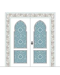 Moroccan Doors, Moroccan Art, Arch Architecture, Islamic Architecture, Arched Doors, Old Doors, Arabesque, Islamic Art Museum, Jewelry Design Drawing