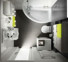 маленькая ванная комната фото 4
