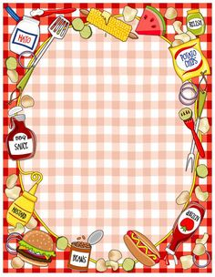 invitation Dear, _________________ Please join us to the opening ceremony of our new shop. snacks & fast food Date: Sunday, may 2019 Time: a. Printable Recipe Cards, Printable Paper, Printable Labels, Scrapbook Frames, Scrapbook Paper, Boarders And Frames, Page Borders, Recipe Scrapbook, Art Clipart
